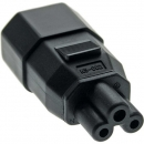 InLine Power Adapter, black,  for notebooks, C14 to C5