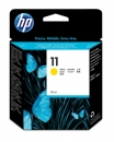 HP 11 Ink Cartridge, yellow, 28ml