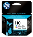 HP 110 Ink Cartridge, tri-color