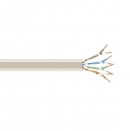 BlackBox GigaBase 350 CAT5e Stranded Bulk Cable, UTP 24AWG, PVC, 1,000-ft. / 305m, beige